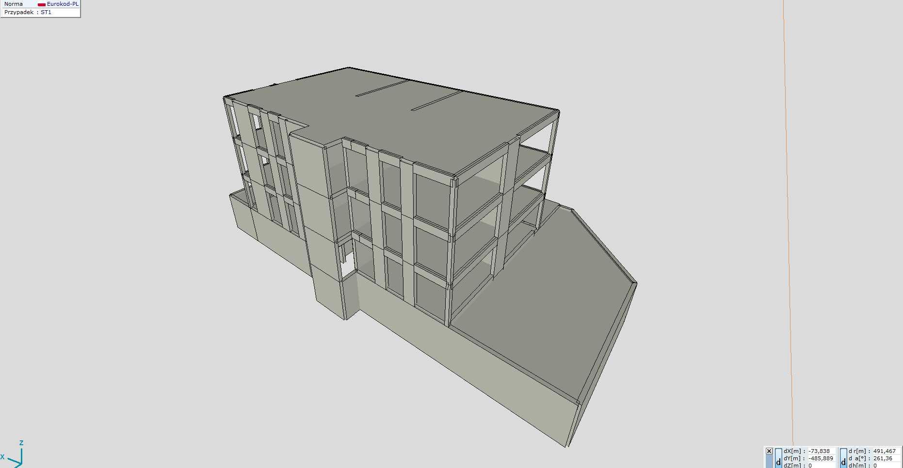 model obliczeniowy 3D